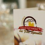 """Paolo Gramaglia firma il nuovo menu autunnale della pizzeria """"Giallo Datterino"""""""