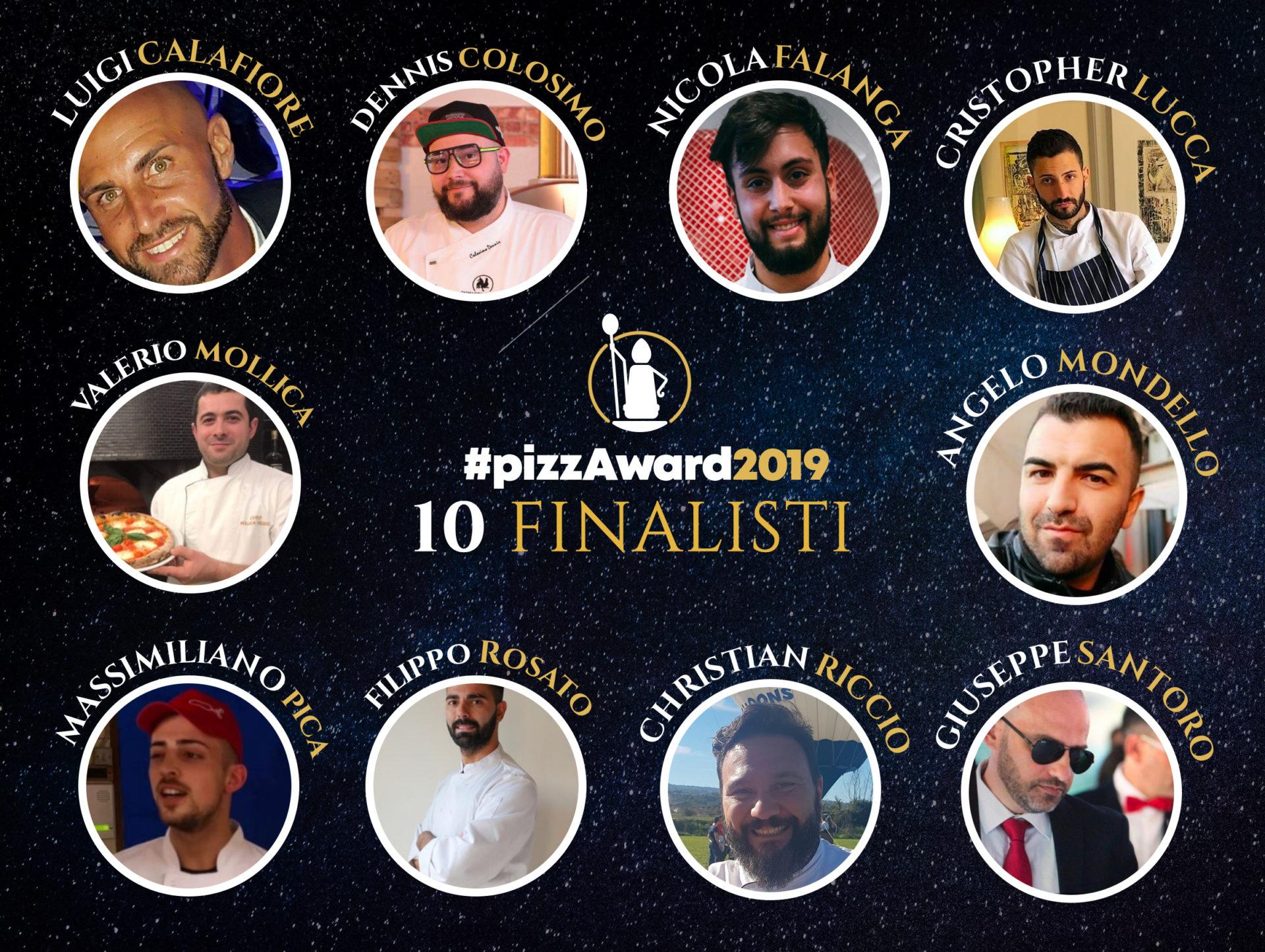 I 10 FINALISTI DEL CONTEST INTERNAZIONALE #PIZZAWARD