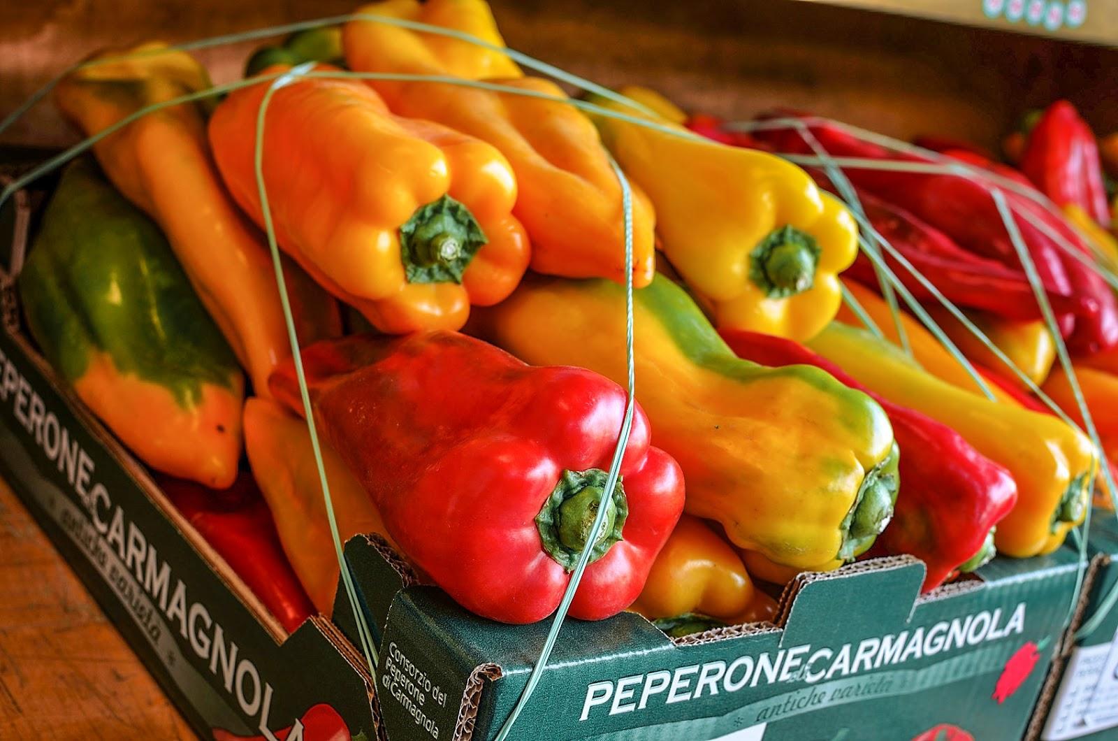 Utilizzare il peperone al posto del pane