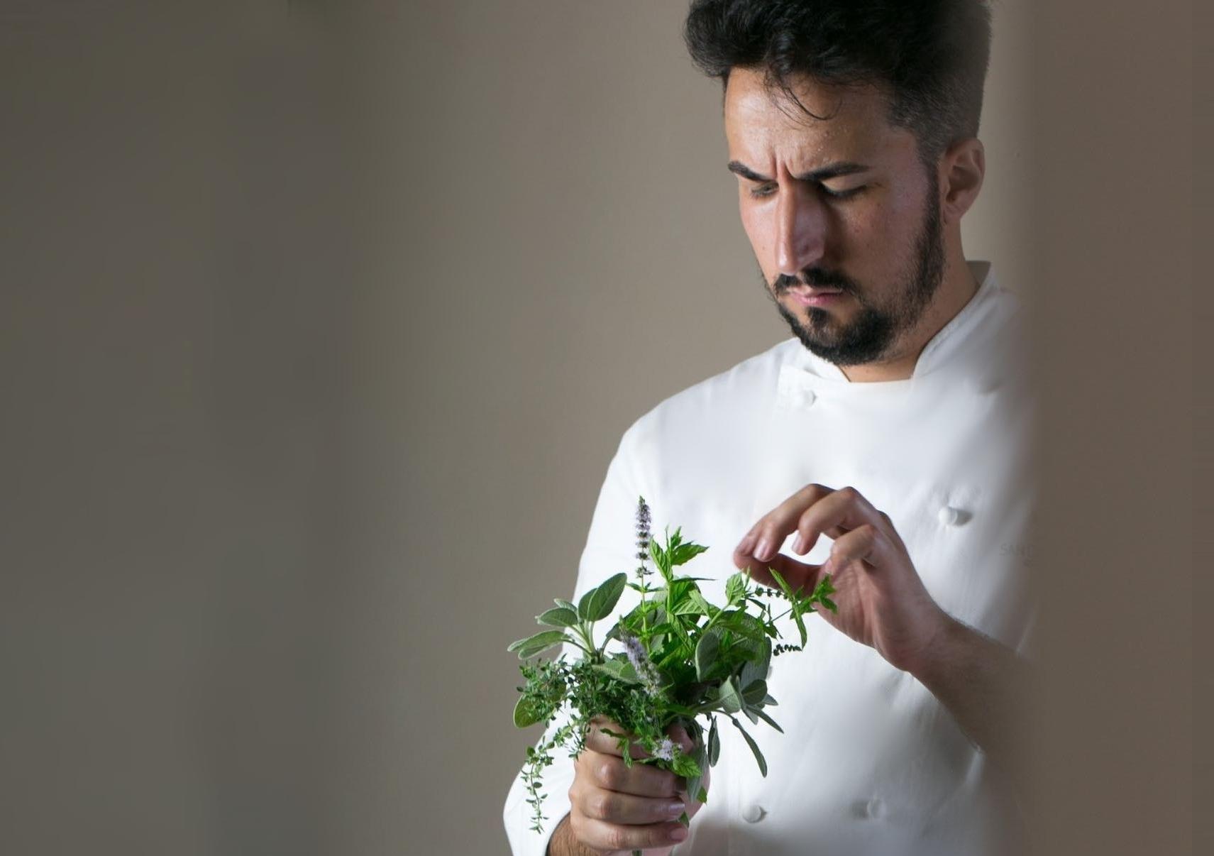 Lo chef Bruno Tassone alla guida del San Domenico