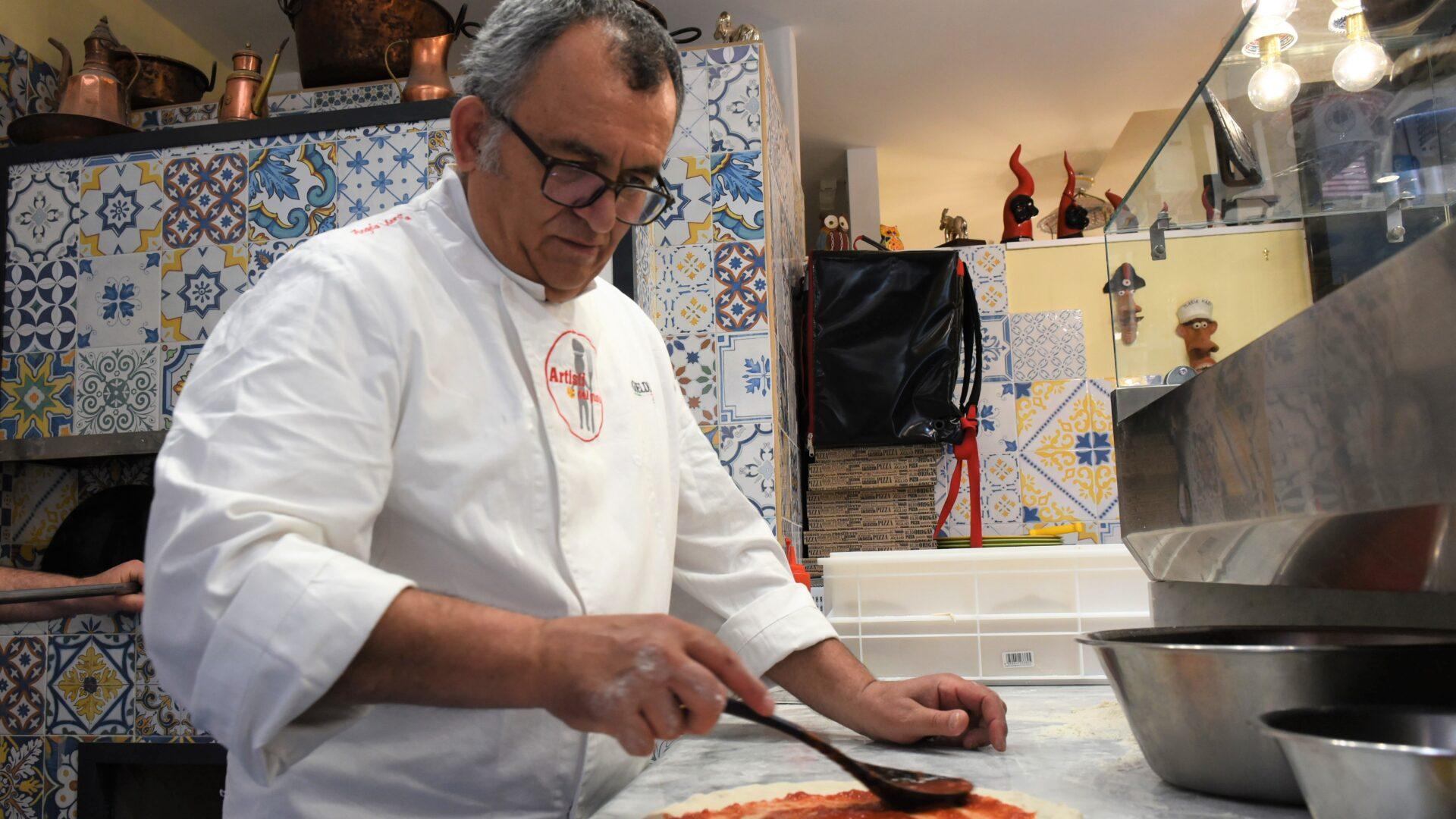 A Napoli la pizza dei Sannino
