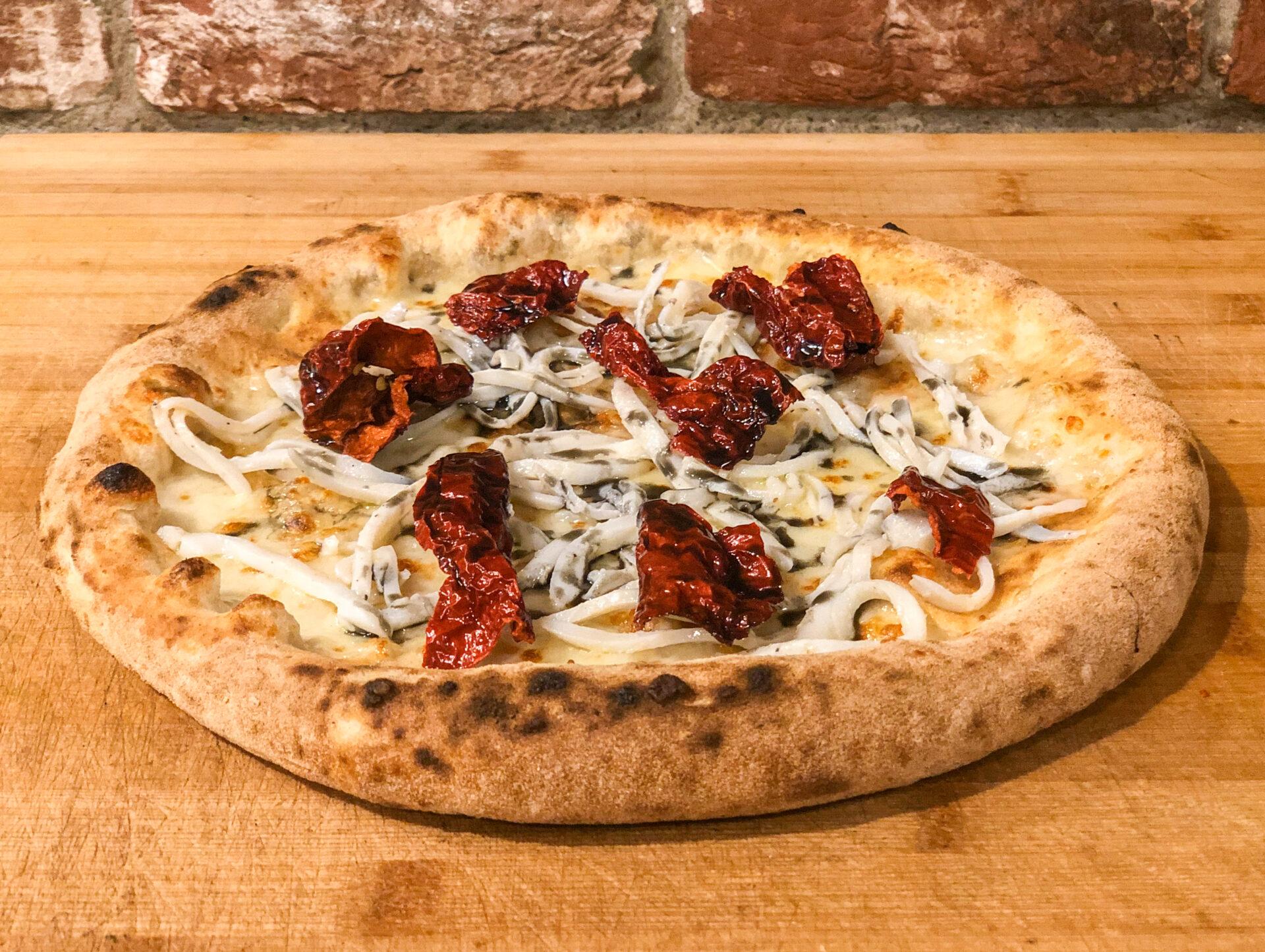 Una pizza firmata dal 6° miglior chef al mondo