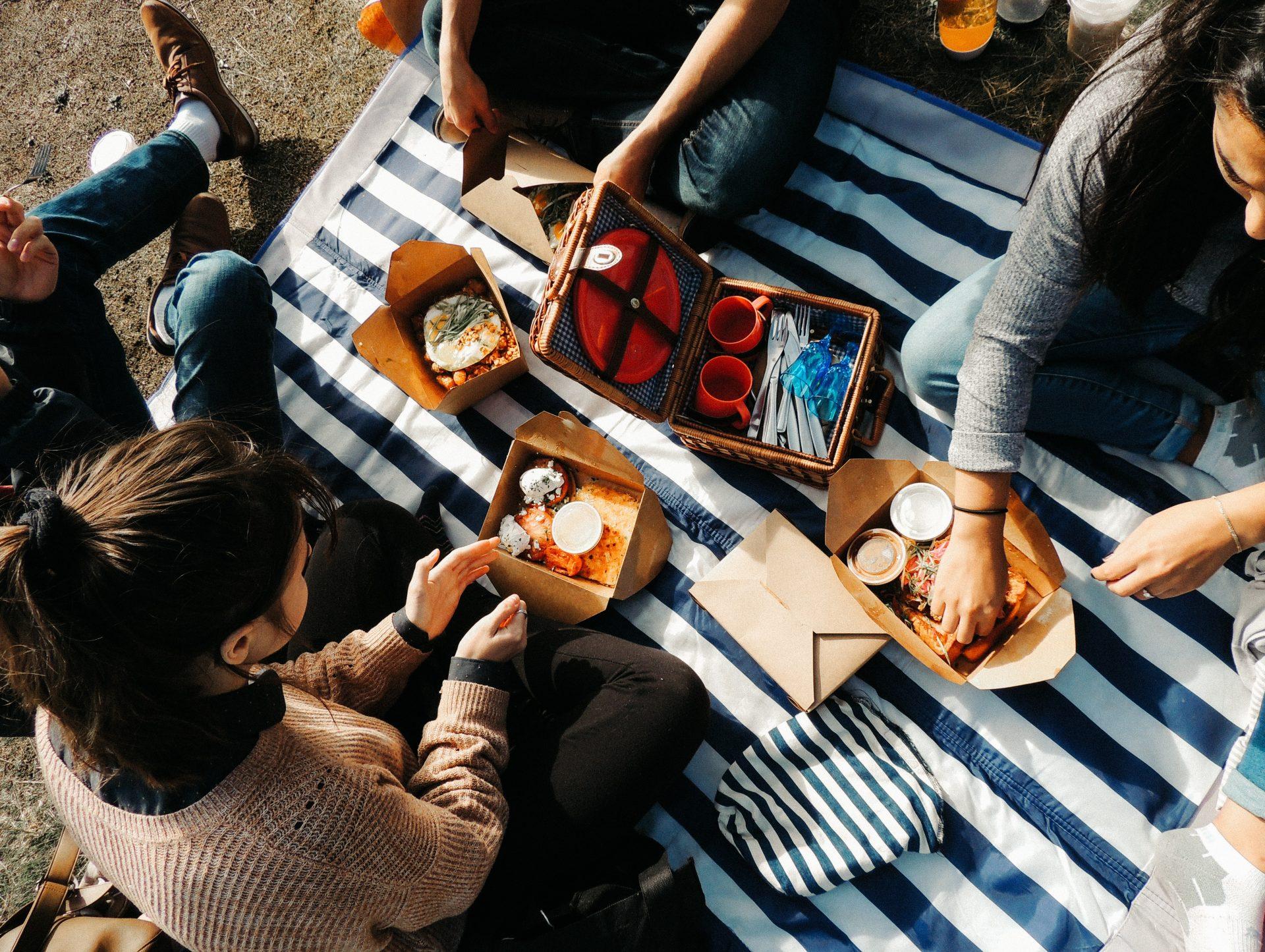 "Un delizioso ""déjeuner sur l'herbe"" metropolitano"